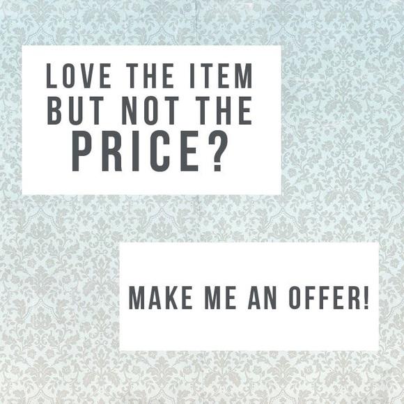 Make an offer 💕